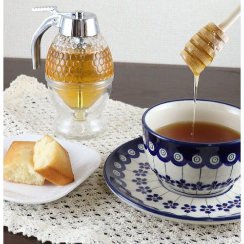 紅茶に蜂蜜を入れてハニーティー
